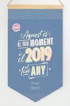 mr. wonderful calendari de paret clàssic 2019 - aquest és el teu moment, i el 2019, el teu any-8435460736527