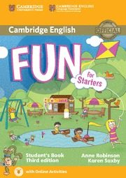 FUN FOR STARTERS STUDENT S BOOK WITH AUDIO WITH ONLINE ACTIVITIES (3RD ED.) a8bf50d62bf