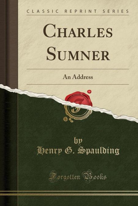 Charles Sumner Descargar Gratis En Formato Txt
