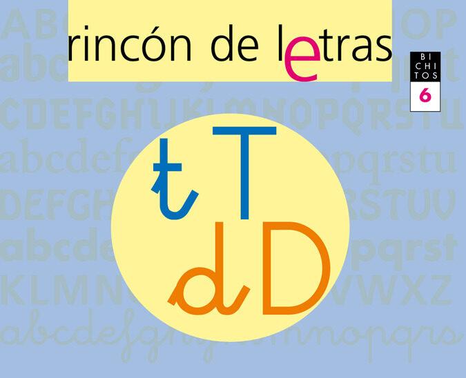 Lecto-escritura Rincon De Letras 6 por Vv.aa. Gratis