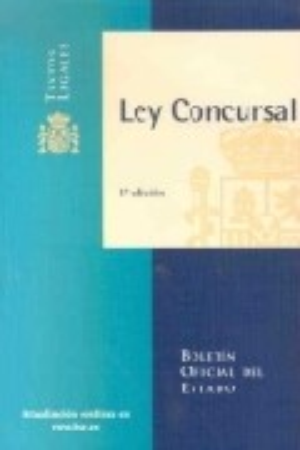 Ley Concursal por Vv.aa.