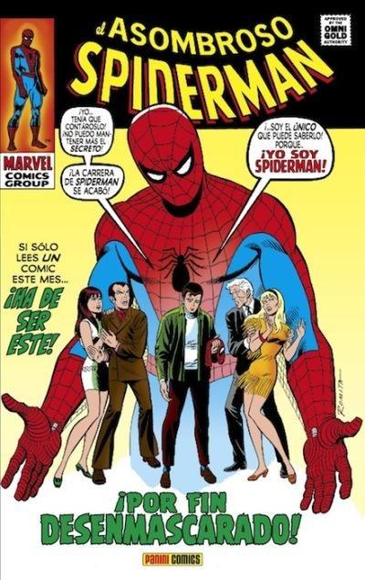 el asombroso spiderman: ¡por fin desenmascarado!-stan lee-9788490245606