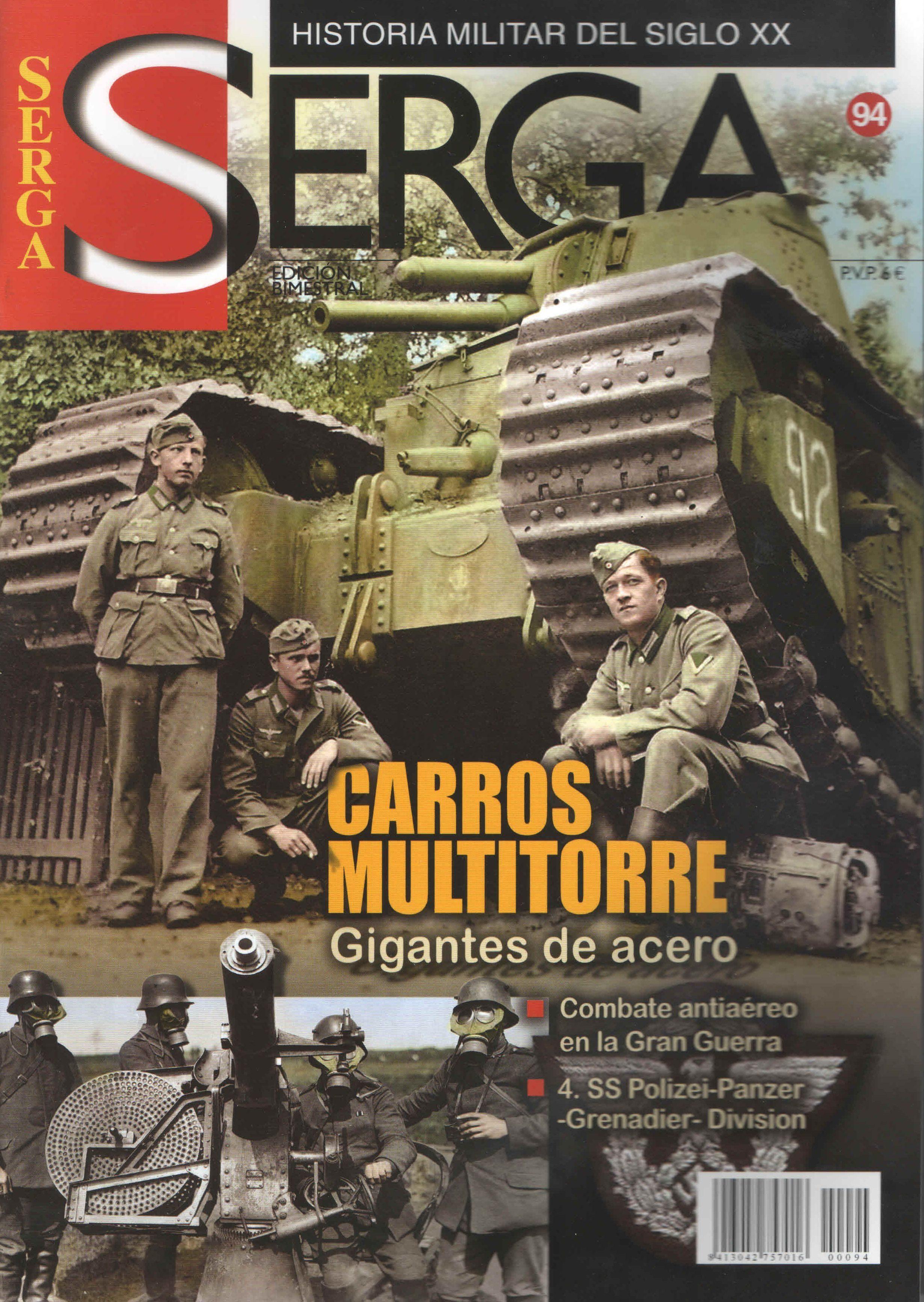 Serga Nº 36 (julio-agosto 2005): Historia Militar Del Siglo Xx por Vv.aa. epub