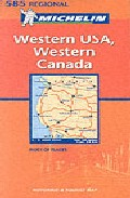 descargar WESTERN USA, WESTERN CANADA Nº 585 (REGIONAL) (1:2400000) pdf, ebook