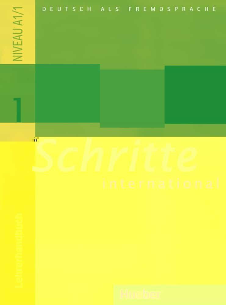 Schrite International 1. Lehrerh (libro Profesor) por Vv.aa. epub