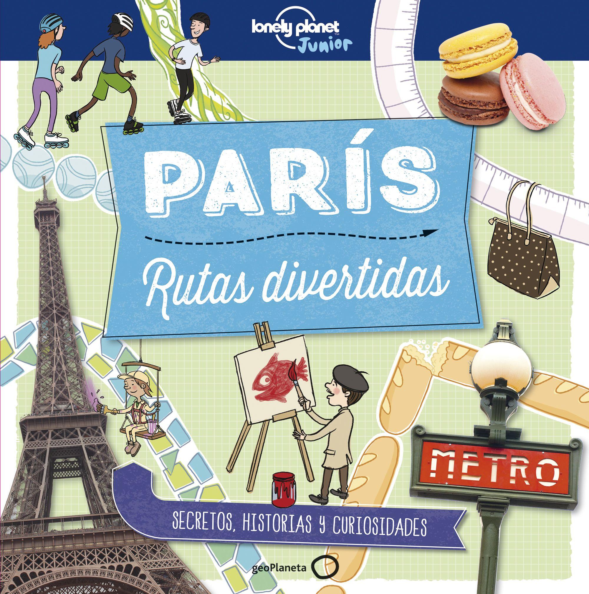 paris: rutas divertidas (lonely planet junior)-moira butterfield-helen geathead-9788408179016