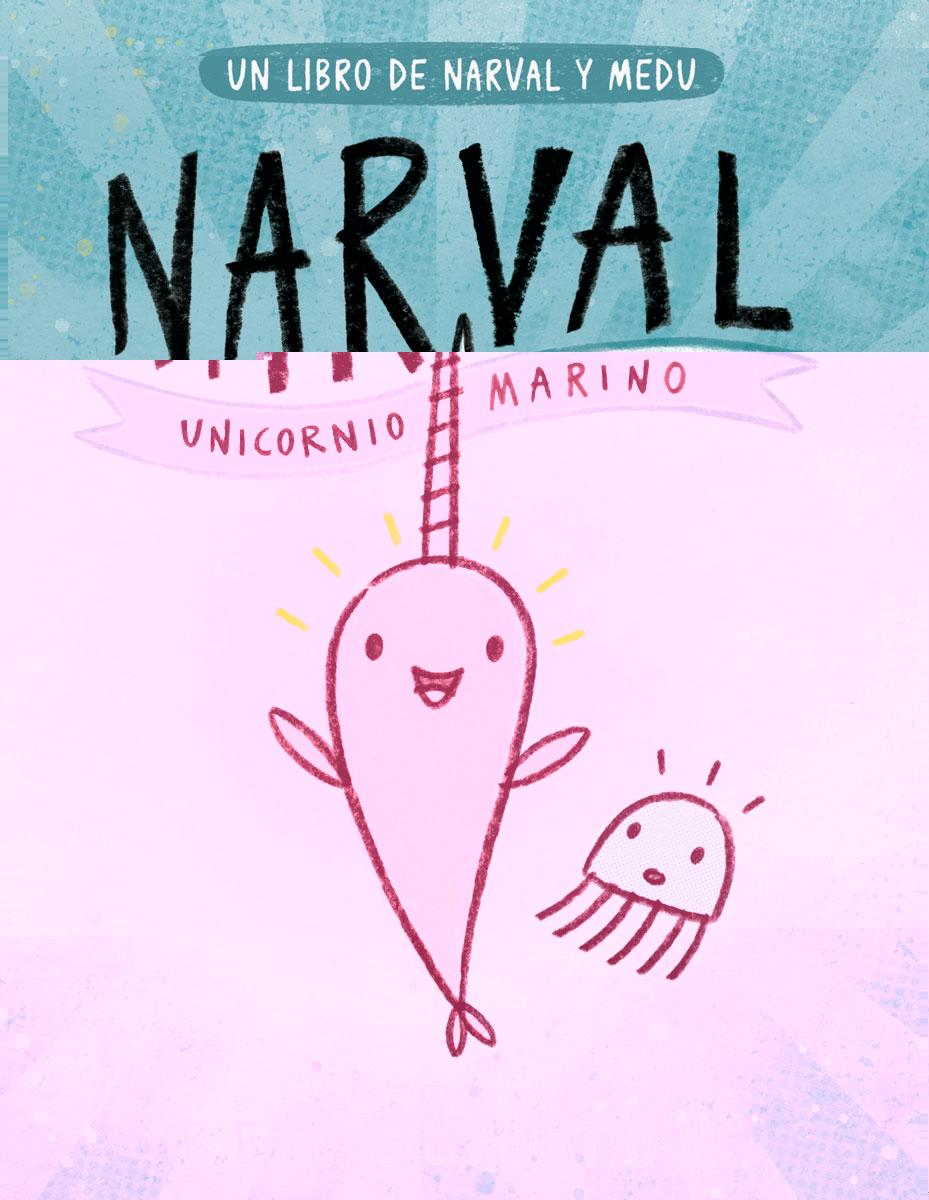 Resultado de imagen para narval unicornio marino