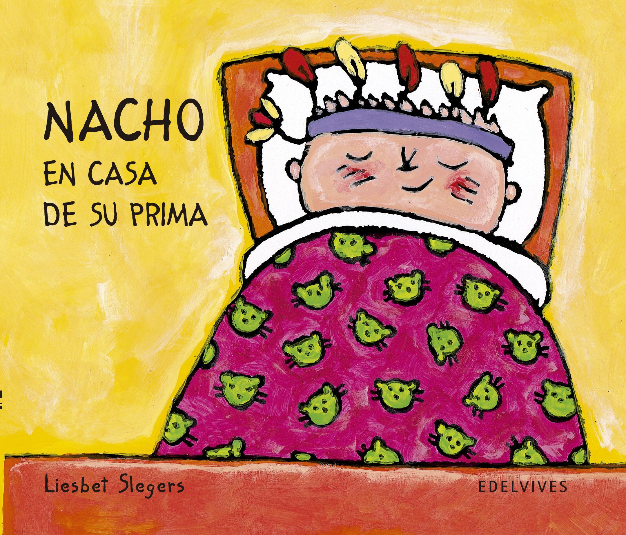 nacho en casa de su prima (mayusculas)-liesbet slegers-9788426346216
