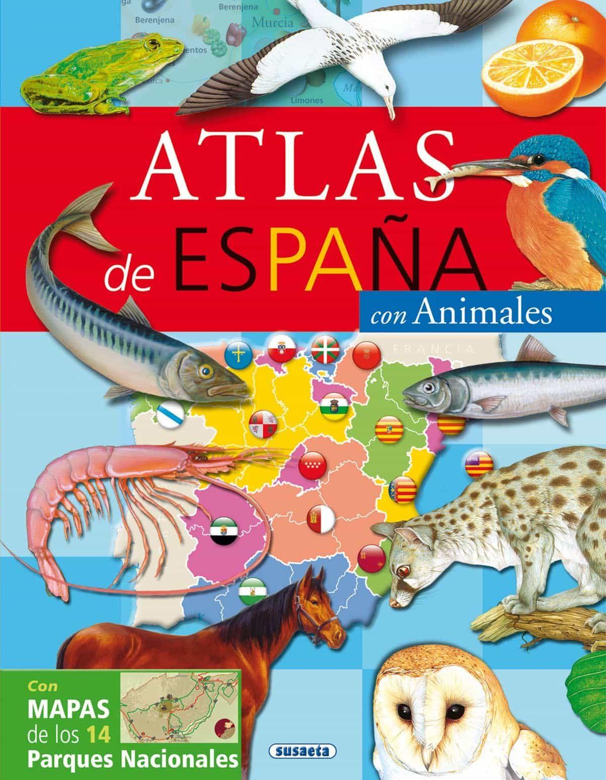 Atlas De España Con Animales por Vv.aa. Gratis