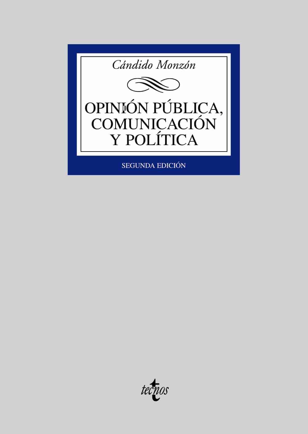 Opinion Publica, Comunicacion Y Politica (2ª Ed.) por Candido Monzon