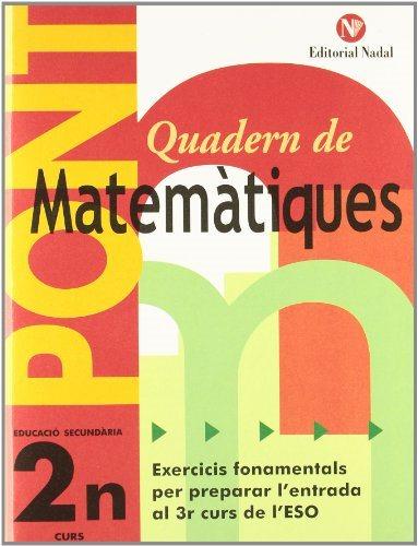 Quadern Matematiques 2 Eso por Vv.aa.