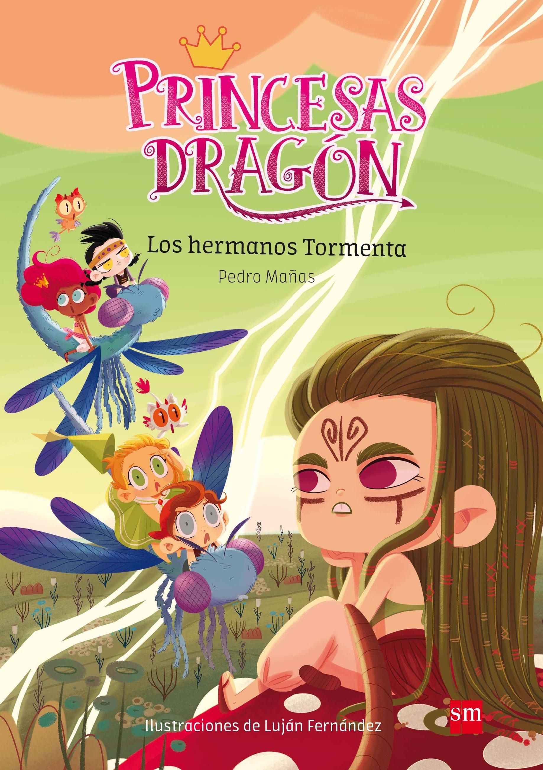 princesas dragon 5 : los hermanos tormenta-pedro mañas romero-9788491073116