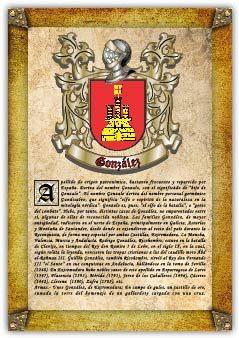Apellido González.(extremadura) / Origen, Historia Y Heráldica De Los Linajes Y Apellidos Españoles E Hispanoamericanos   por Antonio Tapia epub