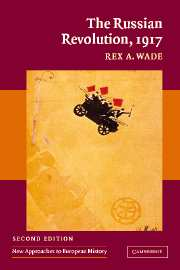 The Russian Revolution 1917 por Rex A. Wade epub