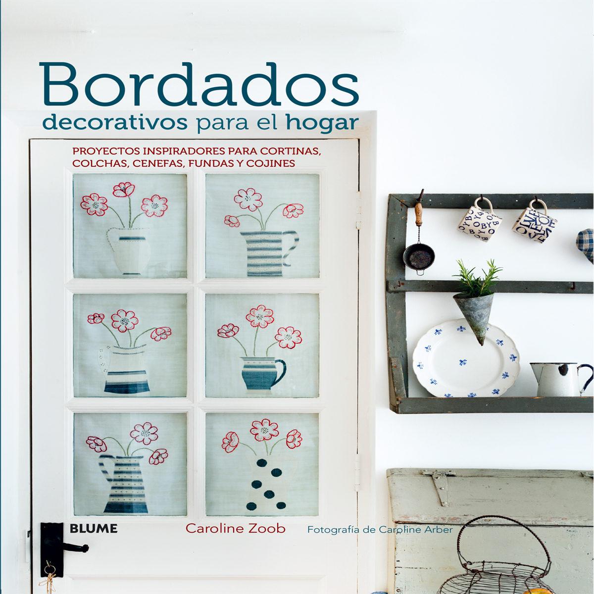 bordados decorativos para el hogar proyectos para cortinas colchas cenefas fundas
