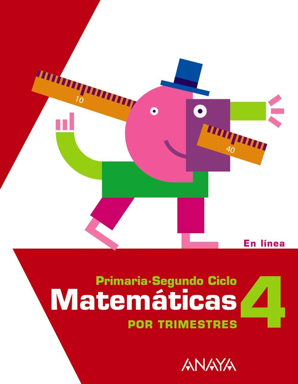 MATEMATICAS 4º PRIMARIA TRIMESTRES | VV.AA. | Comprar libro ...