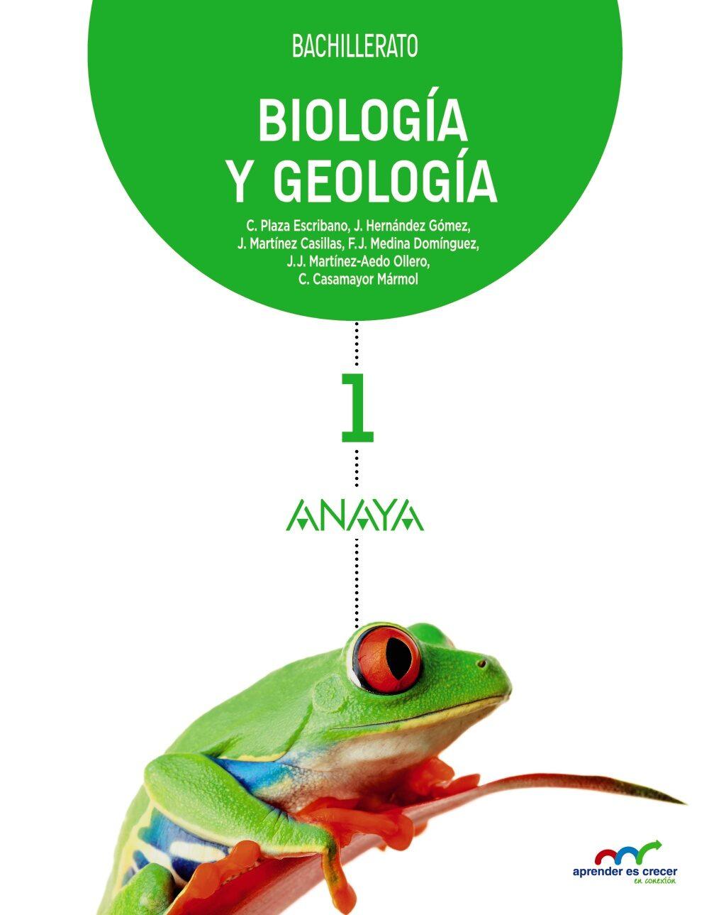 biología y geología 1º bachillerato castellano mec-9788467827026