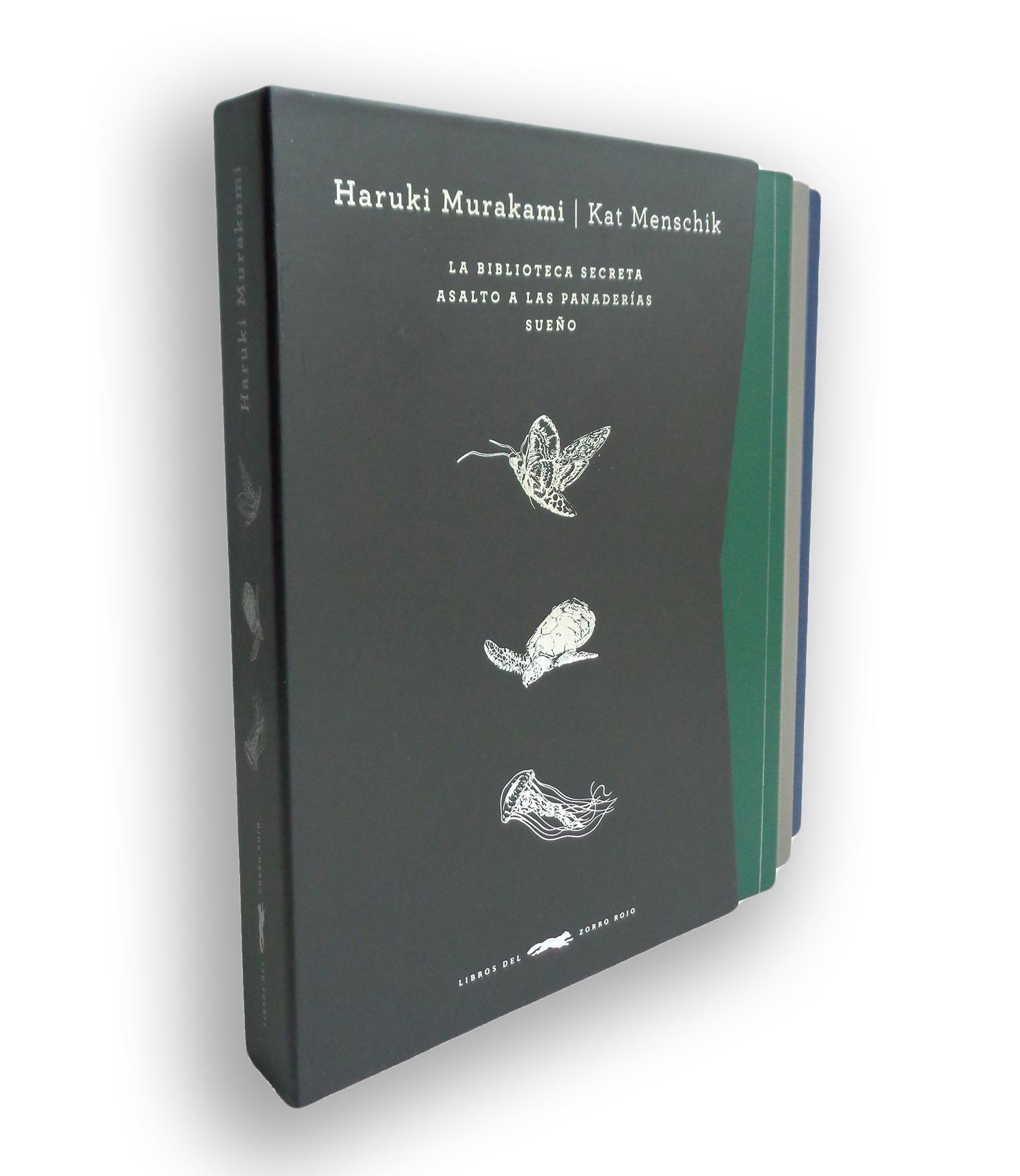 trilogia haruki murakami (contiene: la biblioteca secreta; asalto a las panaderias; sueño)-haruki murakami-9788494570926