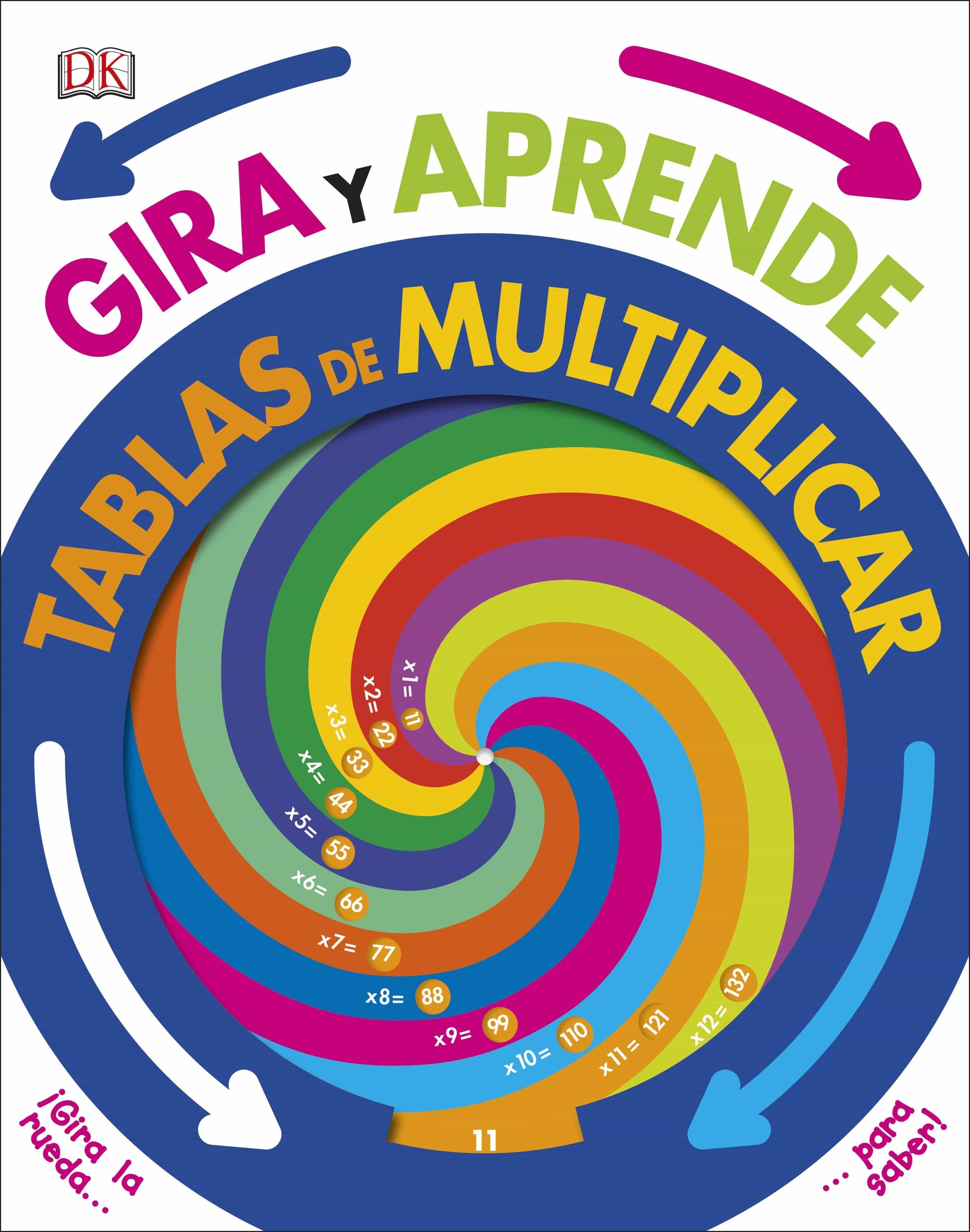 GIRA Y APRENDE: TABLAS DE MULTIPLICAR | VV.AA. | Comprar libro ...