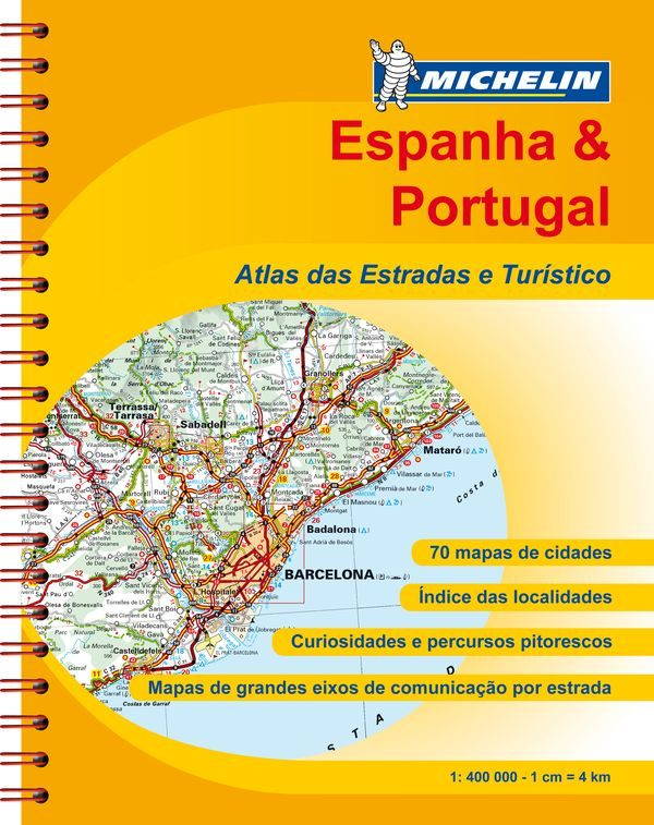 descargar ESPANHA - PORTUGAL 2012 (A4-SPIRALE) (REF. 6460) (ATLAS DE CARRET ERAS EUROPA) pdf, ebook