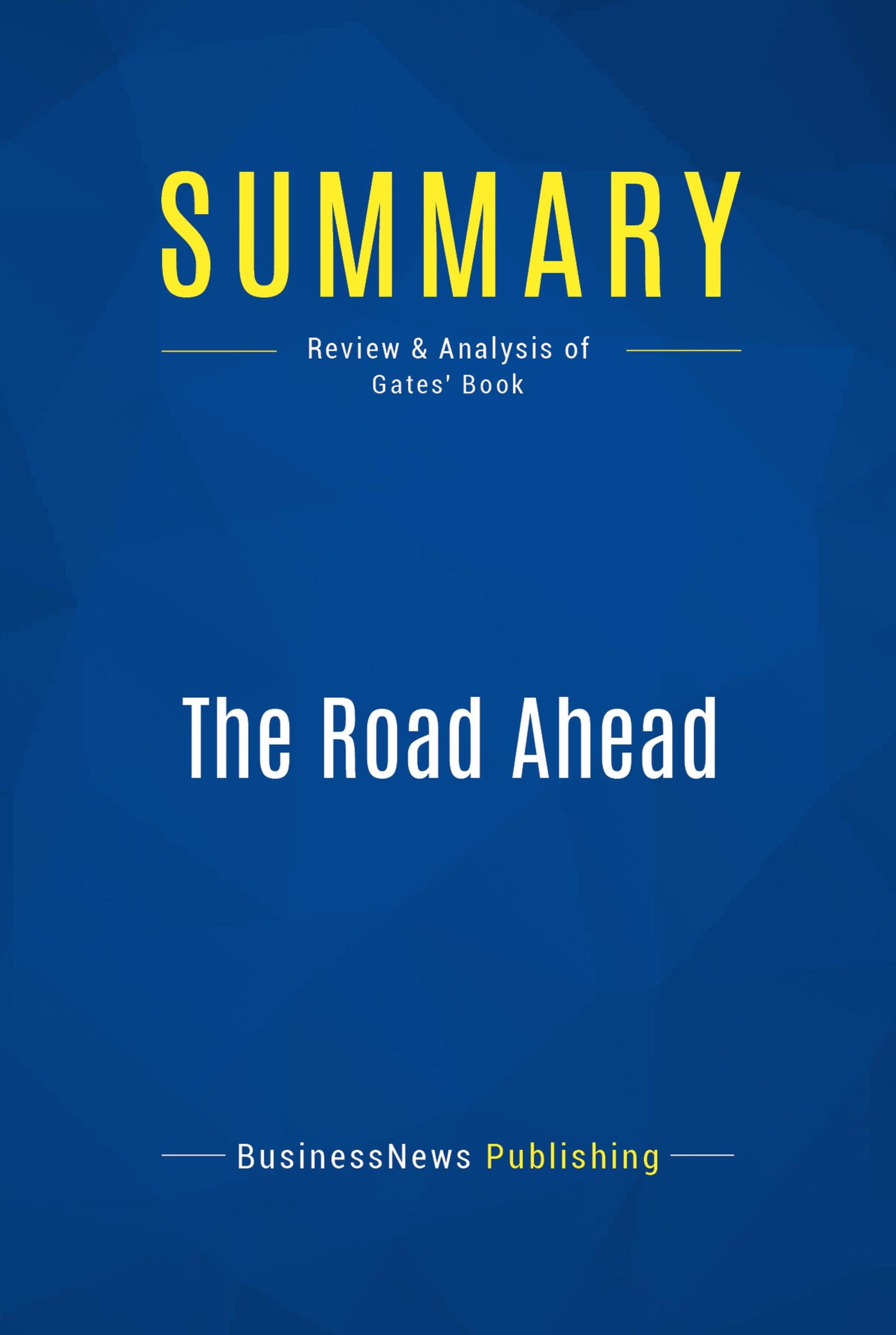 The Road Ahead Epub