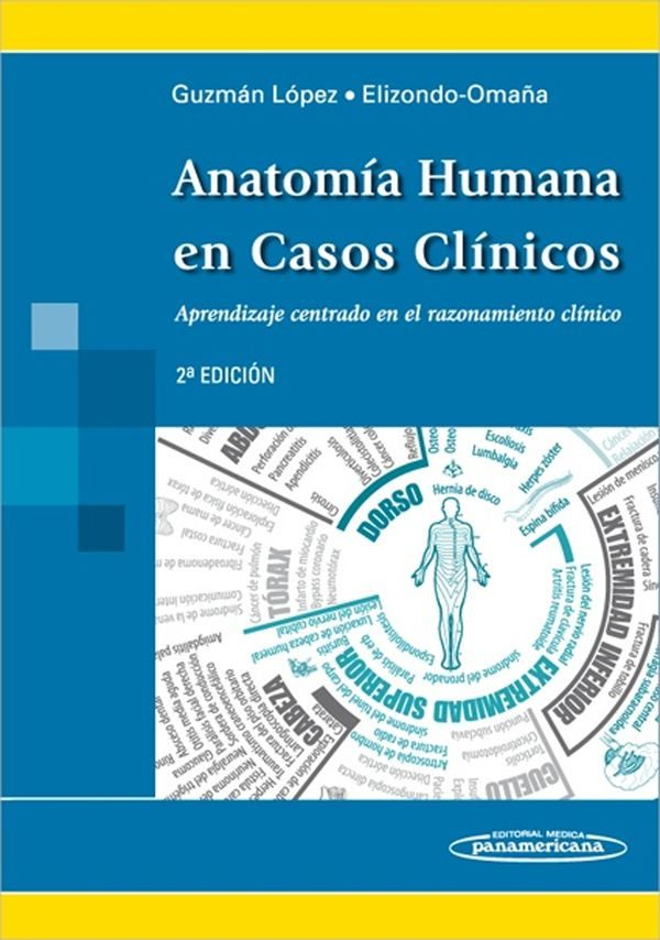 ANATOMIA HUMANA EN CASOS CLINICOS 2ª ED. | SANTOS GUZMAN LOPEZ ...