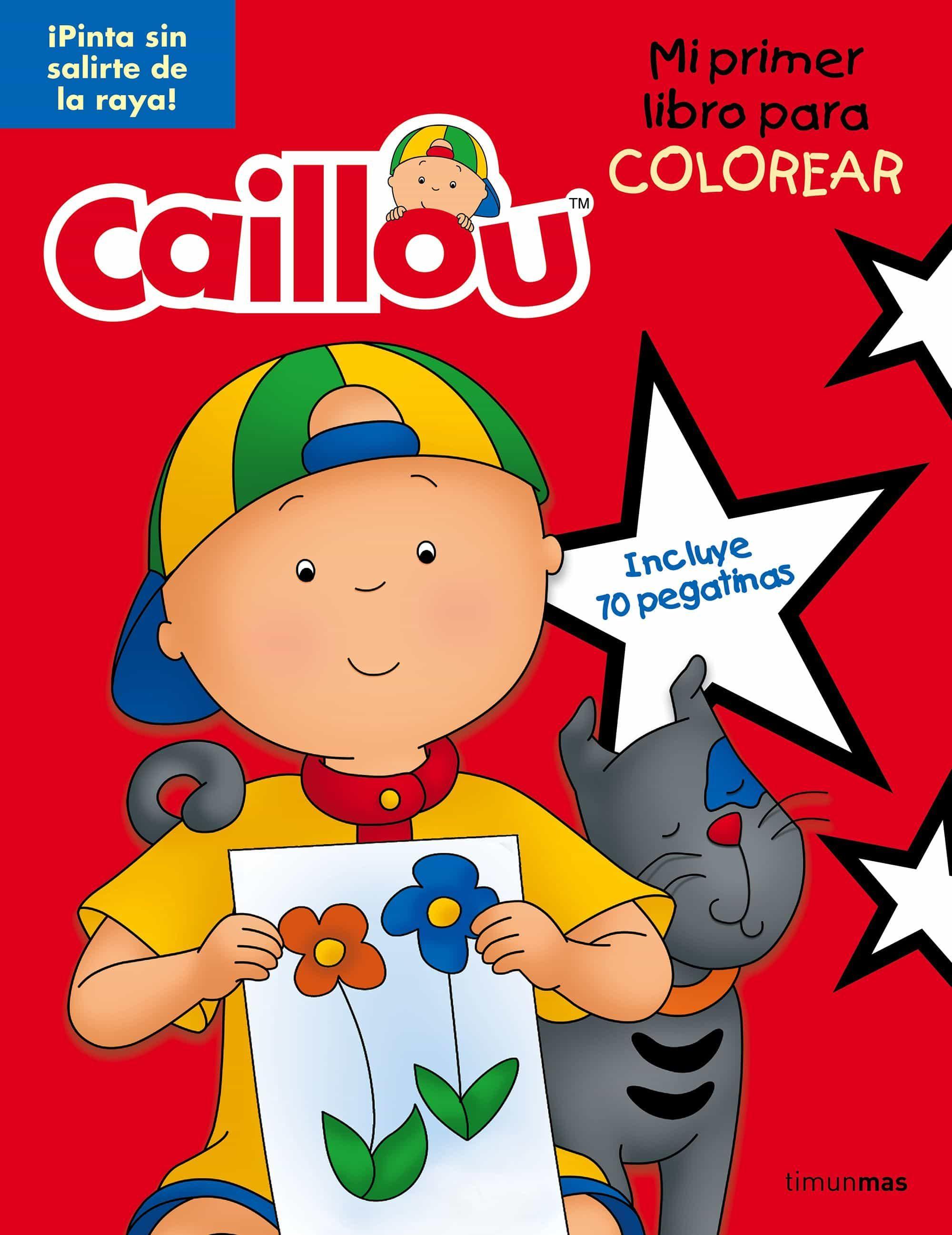 Juegos De Pintar A Caillou. Colorea A La Sheriff Callie. Amazing ...