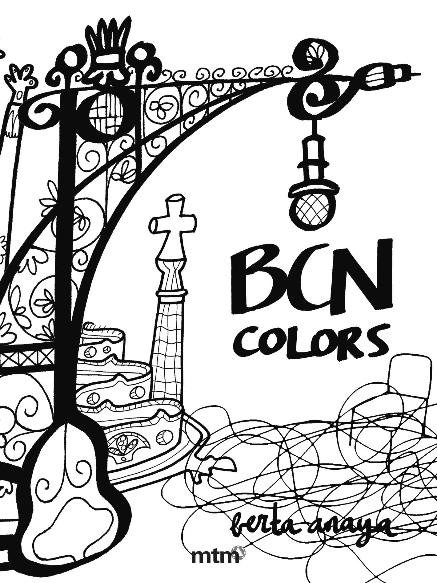 BCN COLORS | BERTA ANAYA | Comprar libro 9788415278436