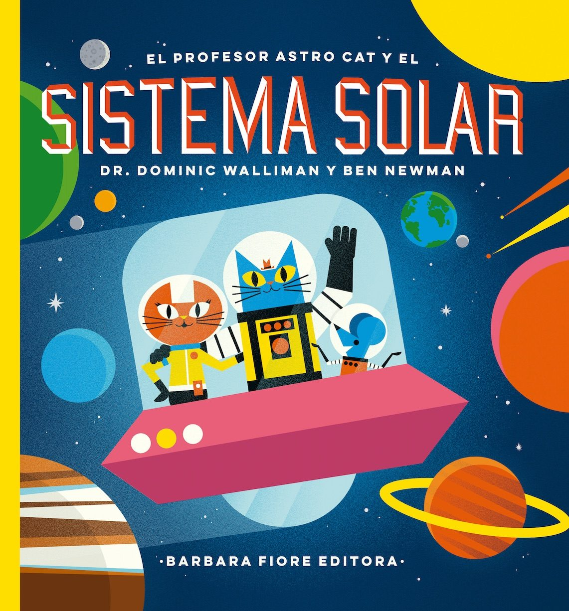 Resultado de imagen de El profesor Astro cat y el sistema solar, de Dominic Walliman