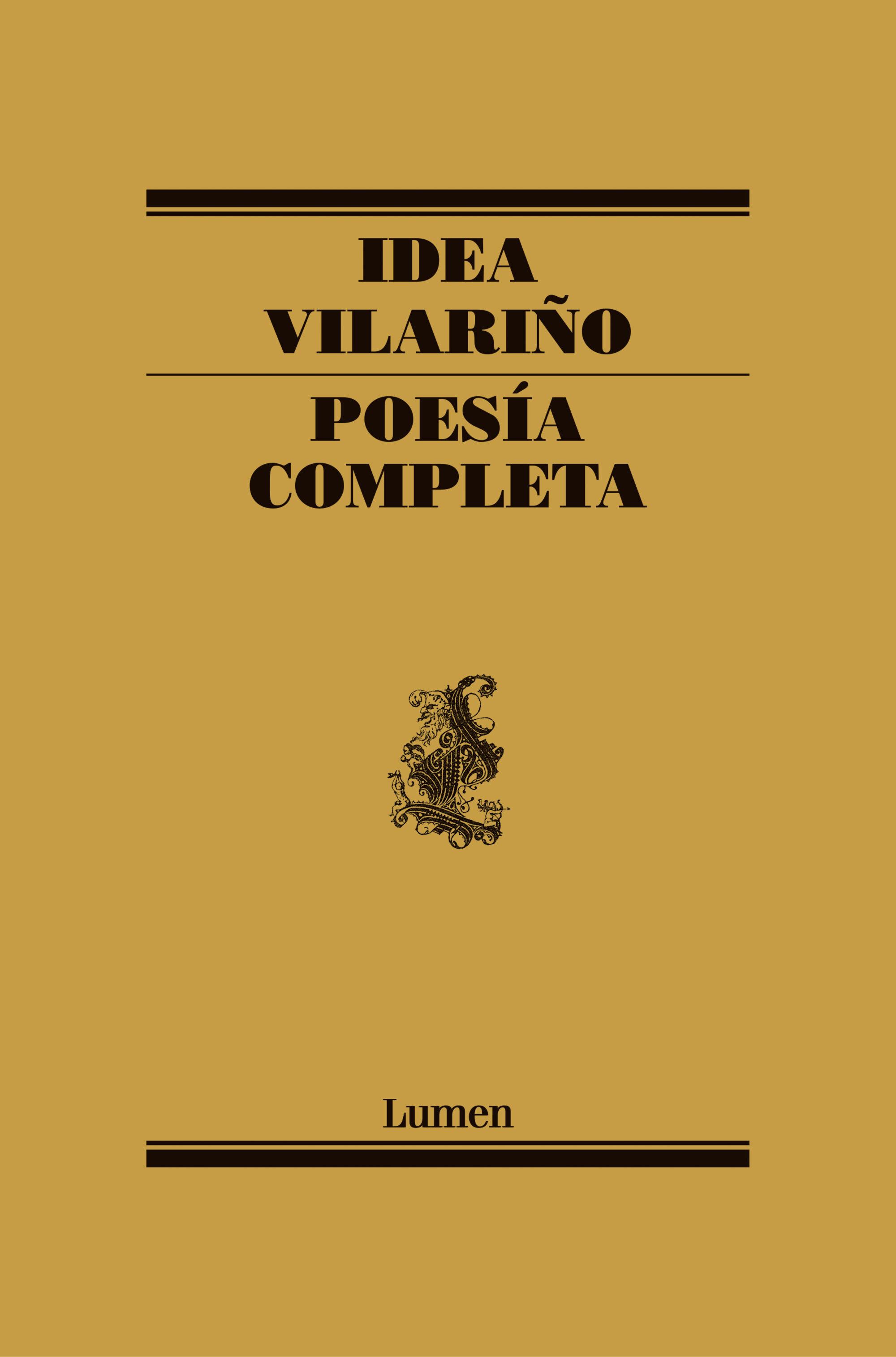 poesia completa-idea vilariño-9788426416636