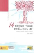 Inmigracion Y Mercado De Trabajo: Informe 2007 Analisis De Datos De España Y Cataluña por Miguel Pajares epub