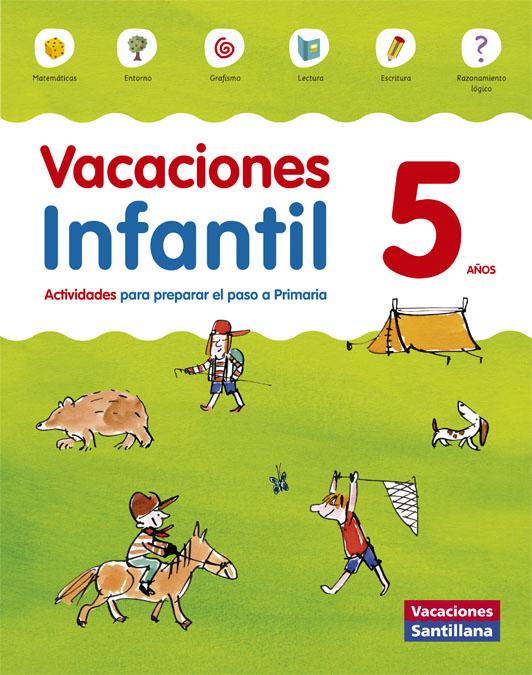 Vacaciones 5 Infantil Santillana Ed 2014 por Vv.aa. epub