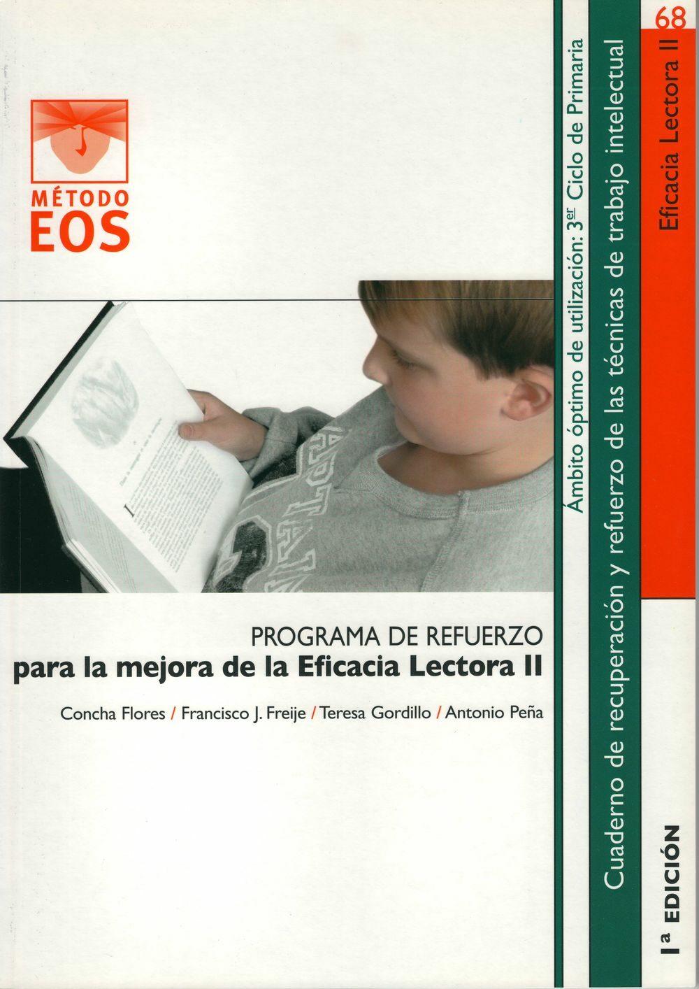 Resultado de imagen de Programa de Refuerzo para la mejora de la Eficacia Lectora I y II
