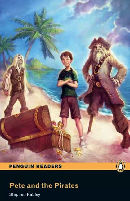 pete and the pirates book/cd pack: easystarts (penguin readers)-stephen rabley-9781408232156