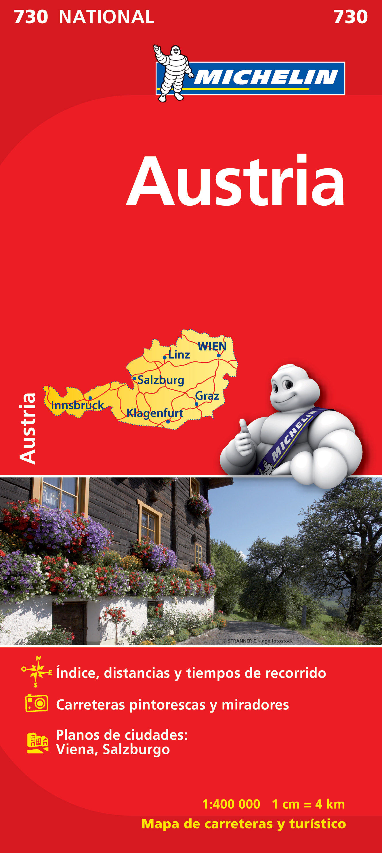 mapa austria 2012 (ref. 730)-9782067171756