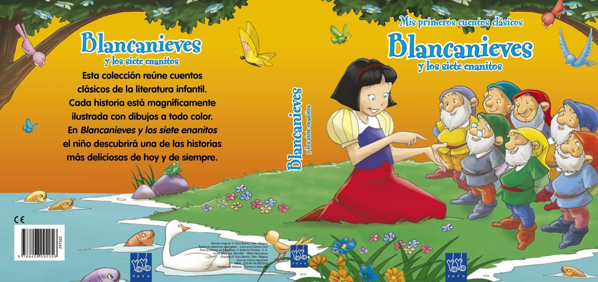 Blancanieves Y Los Siete Enanitos Mis Primeros Cuentos Clasicos
