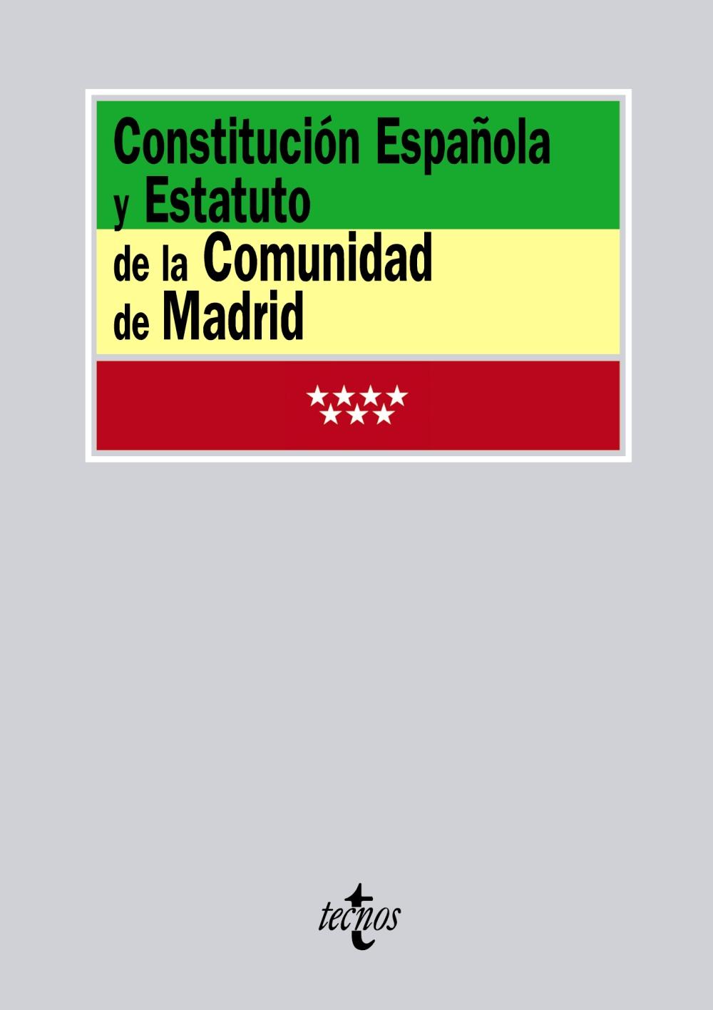 constitucion española y estatuto de la comunidad de madrid-9788430954056