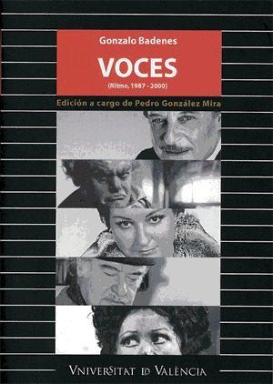 Voces: Ritmo 1987-2000 por Gonzalo Badenes