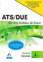 Ats Due Del Servicio Andaluz De Salud. Sas. Temario (vol. Iv) por Vv.aa. epub