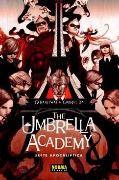 the umbrella academy 1: suite apocaliptica-gerard way-gabriel ba-9788467907056