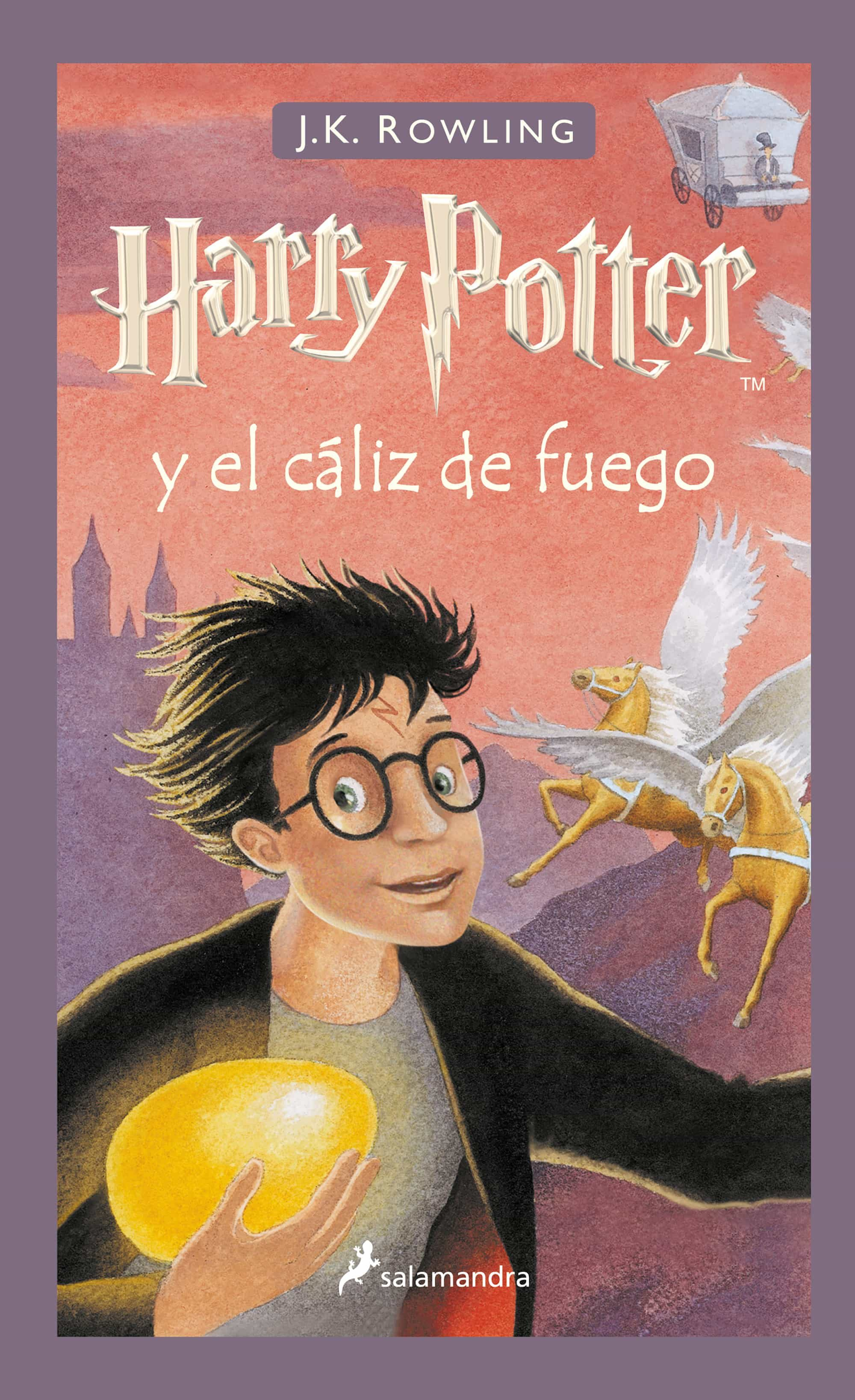 Resultado de imagen de Harry potter y caliz libro