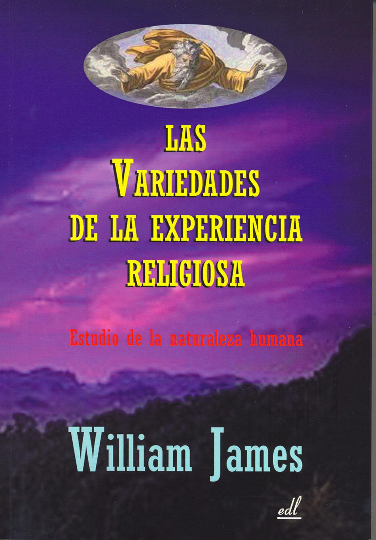 Resultado de imagen de imagen LAS VARIEDADES de la EXPERIENCIA RELIGIOSA libro