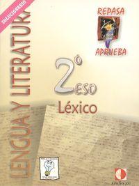 Cuaderno De Lexico 2: Libro Del Profesor (2º Eso) por Vv.aa. Gratis