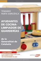 Ayudantes De Cocina - Limpiador De Guarderias De La Generalitat D E Cataluña. Temario Parte Especifica por Vv.aa. epub