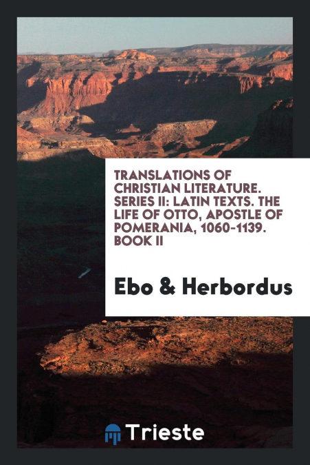 Translations Of Christian Literature. Series Ii Descargar PDF Gratis