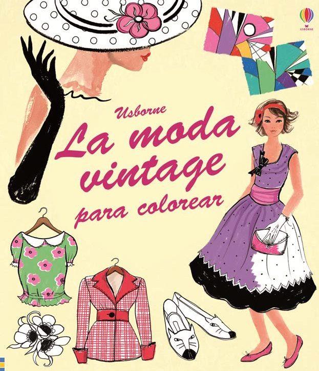 La Moda Vintage Para Colorear Ruth Brocklehurst Comprar Libro