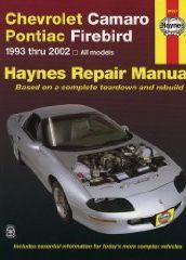 Chevrolet Camaro & Pontiac Firebird Automotive Repair Manual: All Chevrolet Camaro And Pontiac Firebird Models 1993-2002 por Mike Stubblefield epub