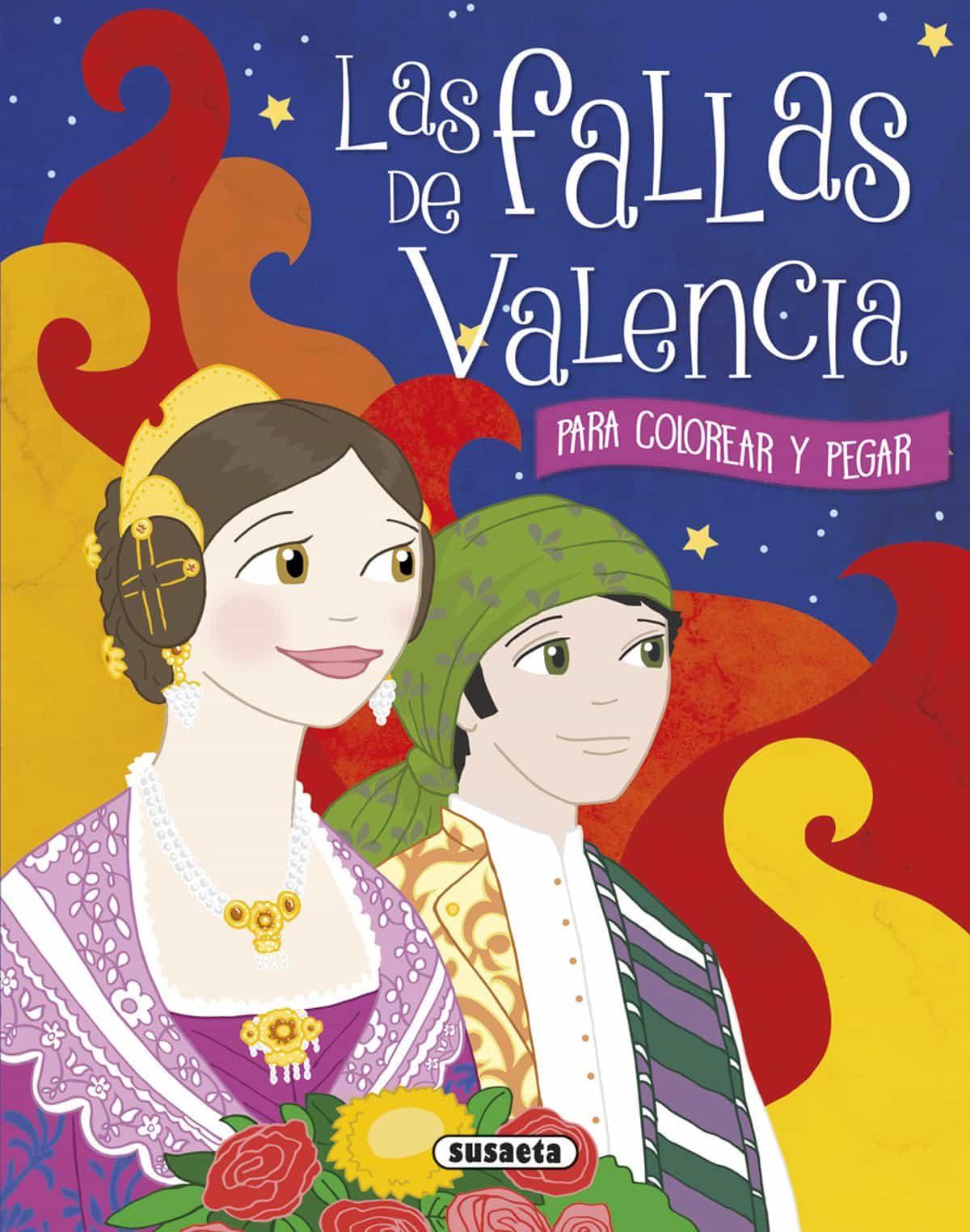 LAS FALLAS DE VALENCIA PARA COLOREAR Y PEGAR | GISELA SOCOLOVSKY ...
