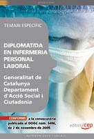 Personal Laboral De La Generalitat De Catalunya. Departament D Ac Cio Social I Ciutadania. Diplomat/da En Infermeria. Temari Esp por Vv.aa. epub