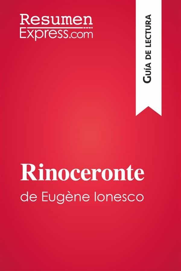 Rinoceronte de eug ne ionesco gu a de lectura ebook eugene ionesco